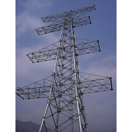 Transmission Line Steel Lattice Tower