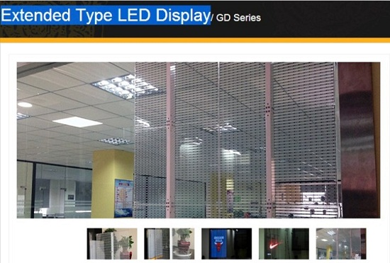 Transparent Glass Window Led Screen