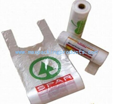 Transparent T Shirt Plastic Bag