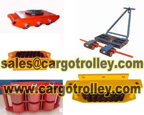 Transport Trolleys Applied On Moving Works