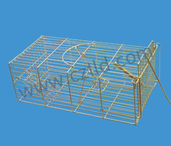 Trap Cage For Catching Mice And Other Animals Such As Feral Cats