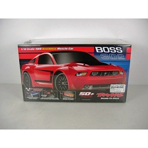 Traxxas Mustang Boss 302 Brushless 2 4ghz Rtr