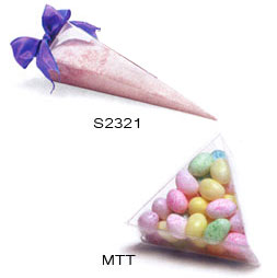 Triangle Candy Plastic Box