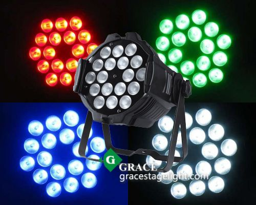 Tricolor Diecasting Aluminum Par Can Stage Lights