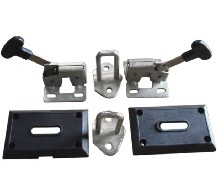 Truck Door Lock Made Of Stainless Steel Carbon Forging Stamping Welding Process Perfect Quality