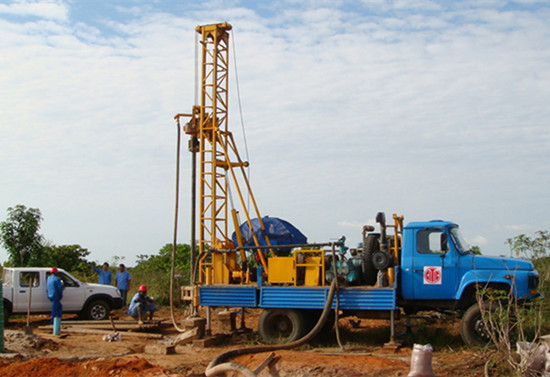 Truck Mounted Diesel Engine Water Well Drill Rigs For Sale