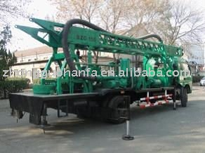 Truck Mounted Hft 150a Obverse Reverse Circulation Construction And Water Well Drilling Machine