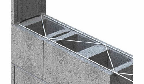 Truss Mesh Reinforcement Made From Galvanized Or Stainless Steel