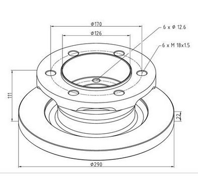 Tucks Brake Disc Rotors