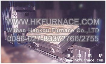 Turnover Type Bogie Hearth Electric Furnace