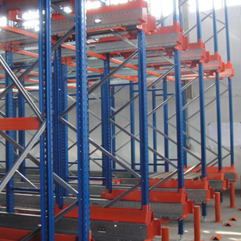 Tuv Certificated Radio Shuttle Racks With Pallet Mole