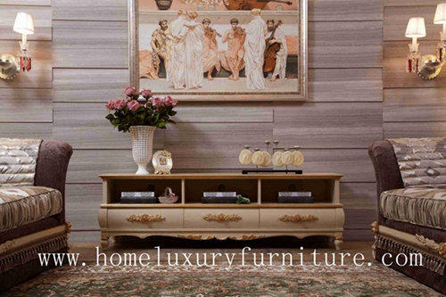 Tv Stands Solid Wood Furniture Living Room Cabinet China Supplier Ftv 106