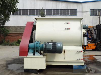 Twin Shaft Agravic Paddle Mixer Mgdm2 1