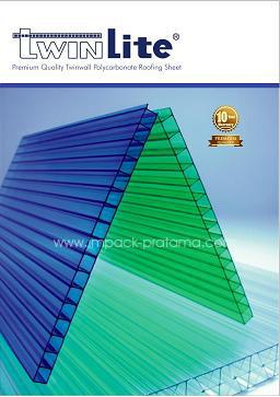 Twinlite Hollow Polycarbonate Sheet