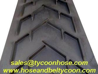 Tycoon Sells Chevron Conveyor Rubber Belt