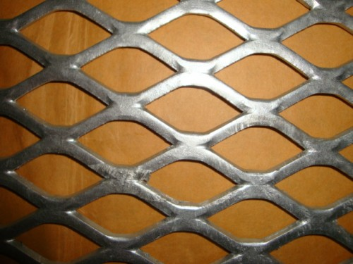 Type Expanded Metal Hexagonal Steel Mesh