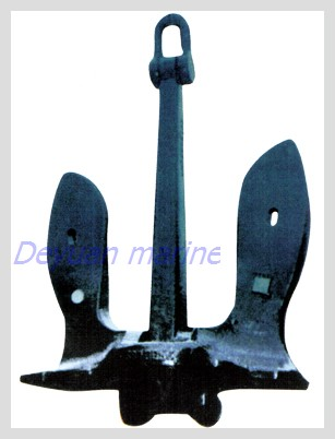 U S N Stockless Anchor