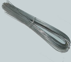 U Type Annealed Wire Galvanized Pvc Coated Available