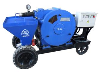 Ubj Series Mortar Spraying Machine