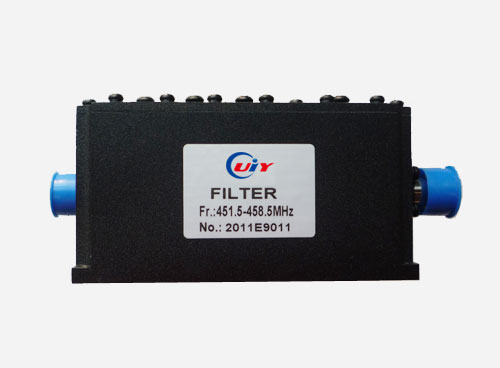 Uhf Band Pass Filter 400mhz To 470mhz From 1mhz Full Bandwidth N Sma Connector