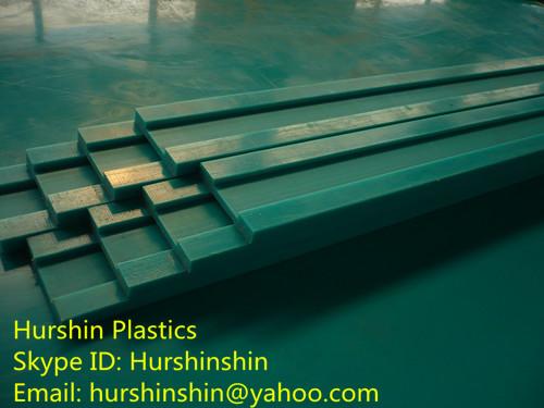 Uhmw Polyethylene Chain Guide Rails