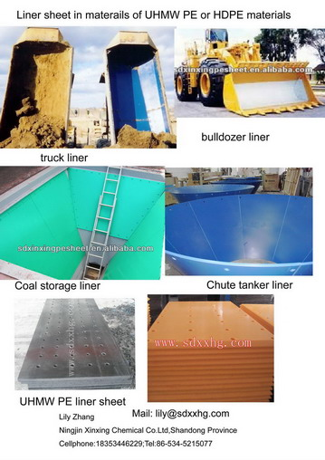 Uhmwpe Coal Storage Board