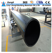 Underground 1200mm Hdpe Water Supply Pipes And Fitting
