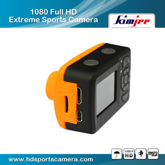 Underwater 1080p Wide Angle 170 Degrees Wireless Mini Action Camera