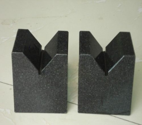 Uniform Material High Hardness Precision Granite V Block