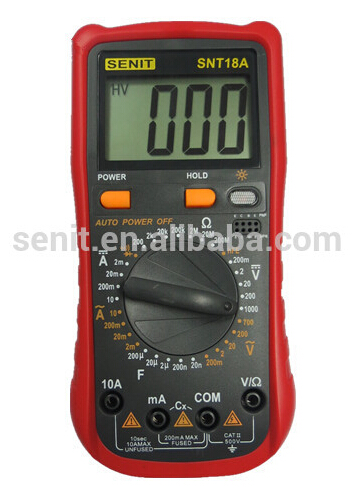 Unit Digital Multimeter Snt18a