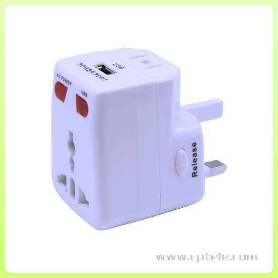 Universal Travel Adapter With Ce