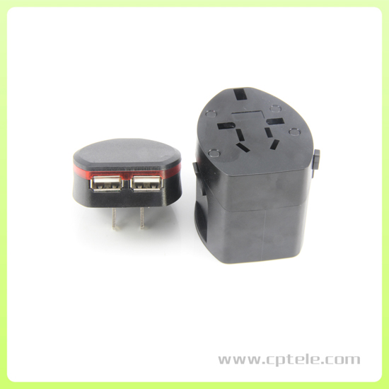 Universal Travel Adapter With Rohs