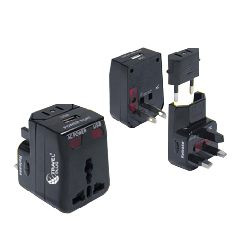 Universal Travel Adapter With Usb Nt 350