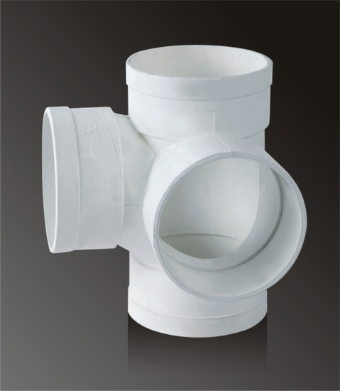 Universally Used Pvc Tee With Side Inlet White Gray Colors For You To Choose