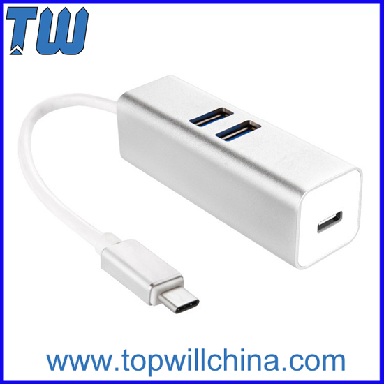 Usb Type C To 2 Ports 3 0 And 1 Hub