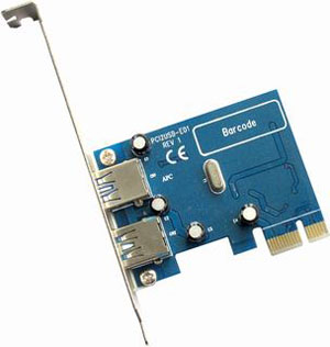 Usb3 0 2 Port Pcie Card Lp