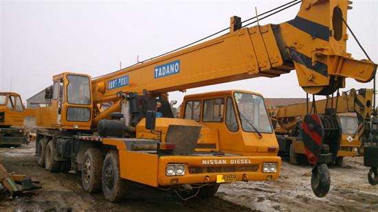 Used 40 Ton Totadano Truck Crane