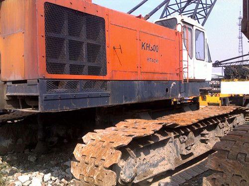 Used 80 Ton Hitachi Kh300 Crawle Crane