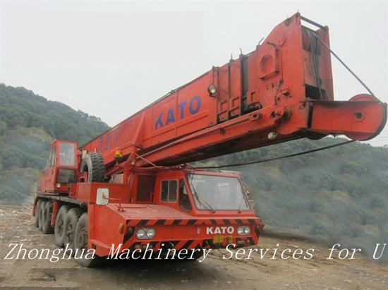 Used 80 Ton Truck Crane