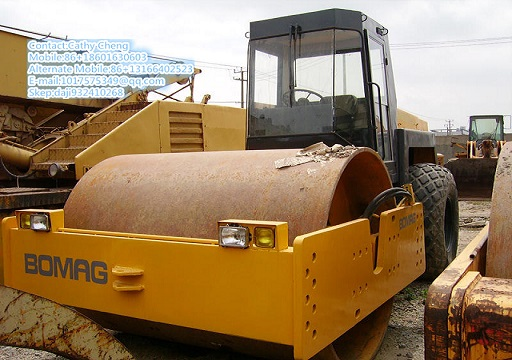 Used Bomag 217d 2 Roller