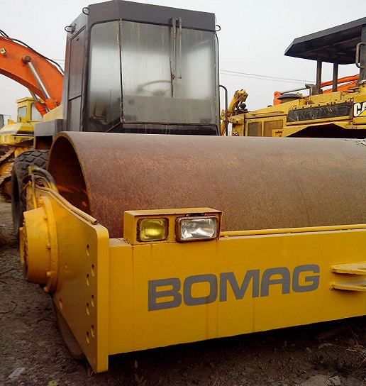 Used Bomag 217d 3 Roller