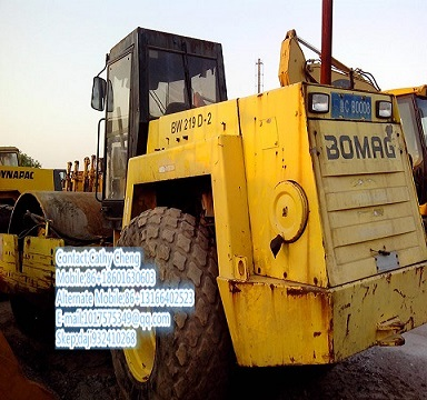 Used Bomag 219d Roller