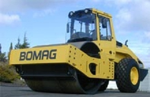 Used Bomag Road Roller Bw219d