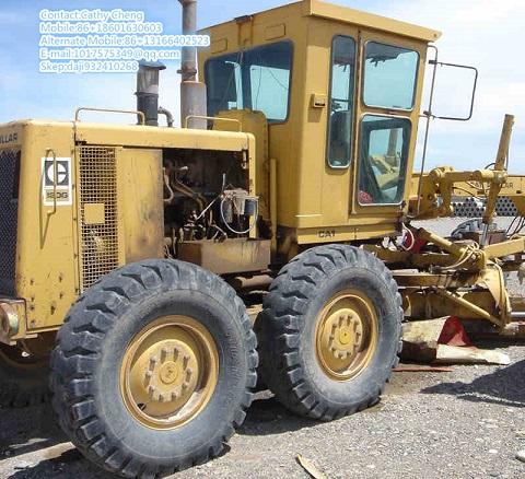 Used Cat 120g Motor Grader