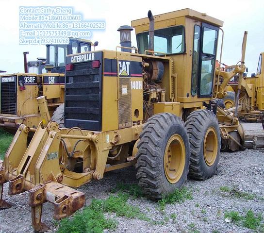 Used Cat 140h 3 Motor Grader
