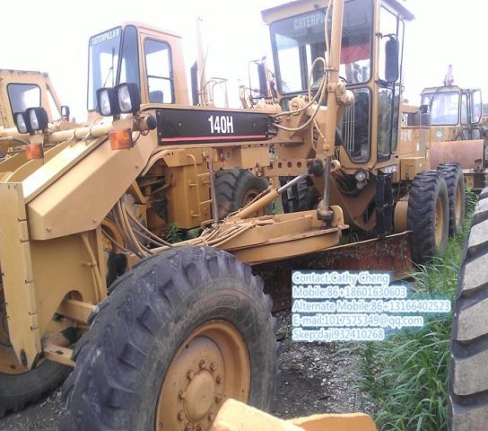 Used Cat 140h 6 Motor Grader