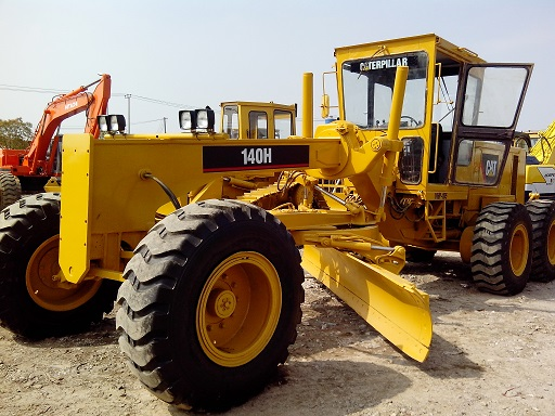 Used Cat 140h Zhi Motor Grader