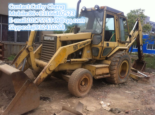 Used Cat 426 Backhoe Loader