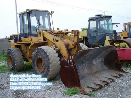 Used Cat 938f Loader