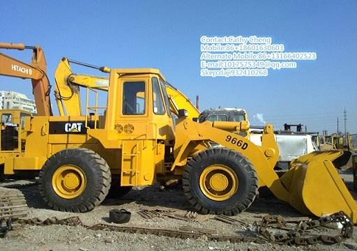 Used Cat 966d Loader